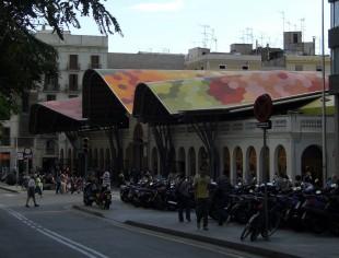 Barcelona_Mercado de Sta Caterina_Miralles2