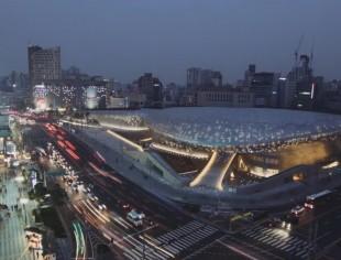 Diseño plaza Dongdaemun