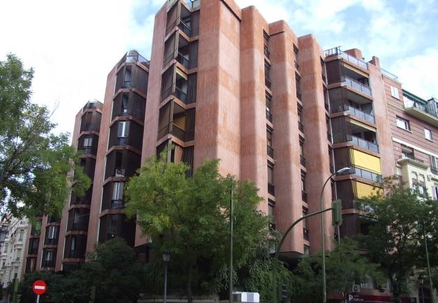 edificio girasol madrid tvarquitectura