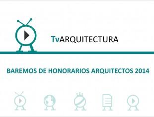 Honorarios Arquitectos 2014