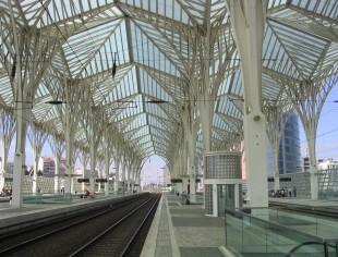 Lisboa_ Estacion Oriente_ Calatrava