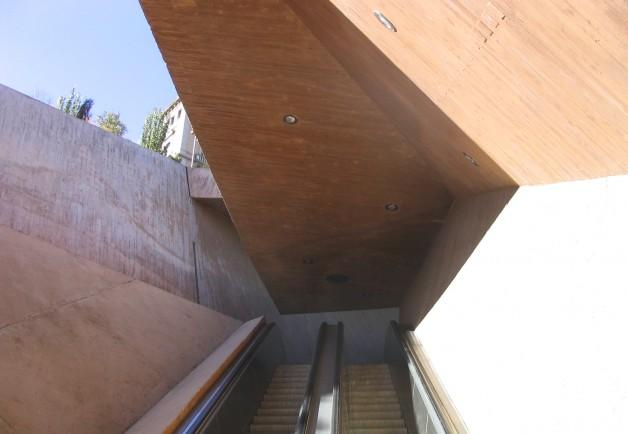Toledo_ Escaleras de La Granja_ José Antonio Martínez Lapeña & Elías Torres