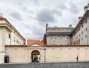 Vestíbulo Galería Nacional de Praga