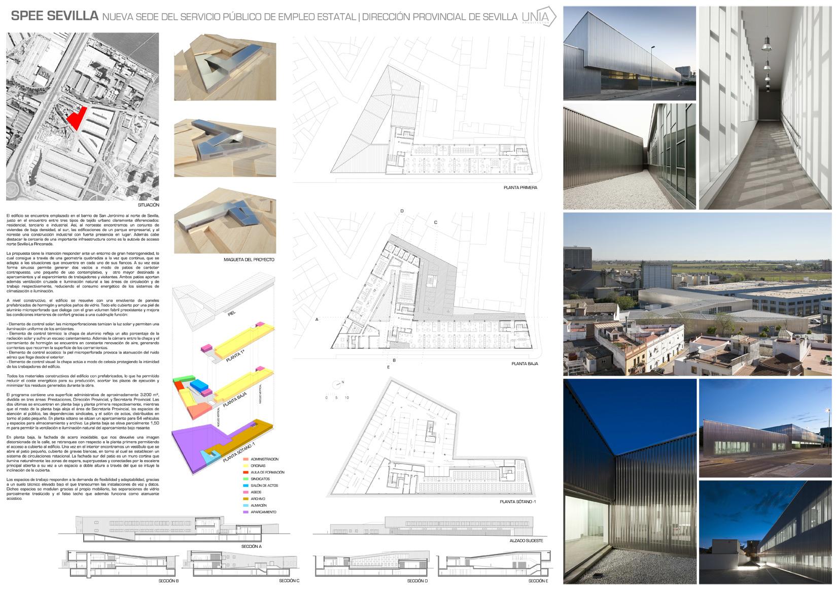 Unia Arquitectos /<br>SPEE SEVILLA